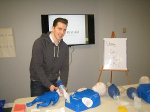 First aid courses and services in Calgary