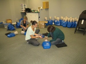 First aid courses and services in Edmonton