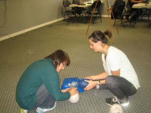 First aid and CPR courses and services in Regina