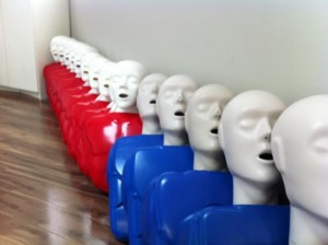 CPR Mannequins for Training