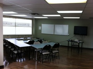 St Mark James Training Class in Hamilton