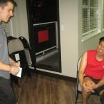 Helping During a Knee Injury